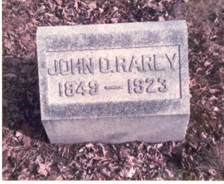 RAREY, JOHN O. - Franklin County, Ohio | JOHN O. RAREY - Ohio Gravestone Photos