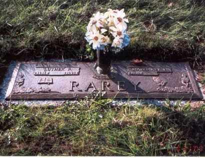 RAREY, LUTHER  P. - Franklin County, Ohio | LUTHER  P. RAREY - Ohio Gravestone Photos