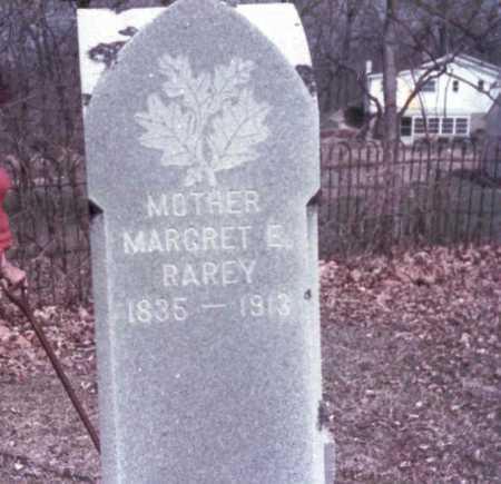 MARCY RAREY, MARGRET  E. - Franklin County, Ohio | MARGRET  E. MARCY RAREY - Ohio Gravestone Photos