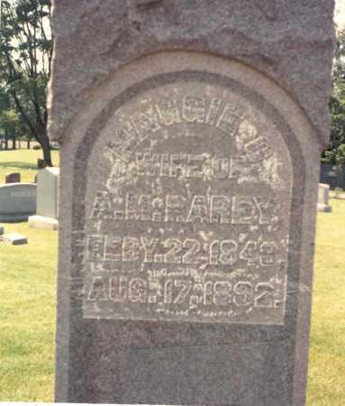RAREY, MAGGIE - Franklin County, Ohio   MAGGIE RAREY - Ohio Gravestone Photos
