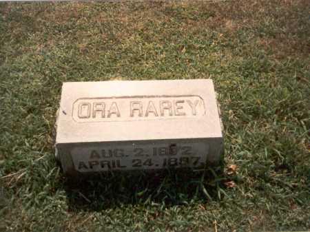 RAREY, ORA - Franklin County, Ohio | ORA RAREY - Ohio Gravestone Photos