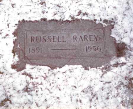 RAREY, RUSSELL - Franklin County, Ohio | RUSSELL RAREY - Ohio Gravestone Photos