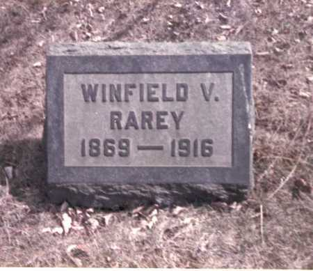 RAREY, WINFIELD V. - Franklin County, Ohio   WINFIELD V. RAREY - Ohio Gravestone Photos