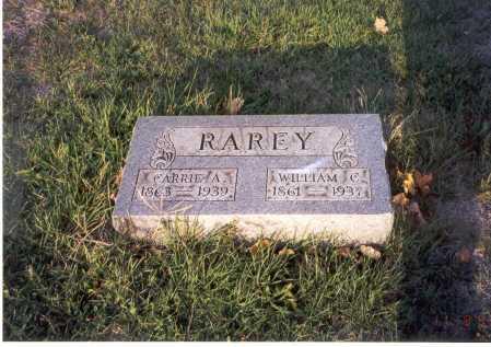 RAREY, WILLIAM C. - Franklin County, Ohio | WILLIAM C. RAREY - Ohio Gravestone Photos