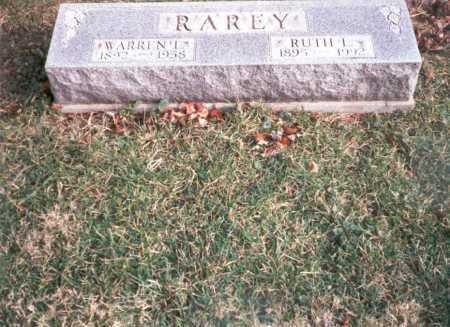 RAREY, WARREN  L. - Franklin County, Ohio | WARREN  L. RAREY - Ohio Gravestone Photos