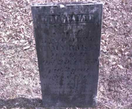 RAREY, WILLIAM - Franklin County, Ohio | WILLIAM RAREY - Ohio Gravestone Photos