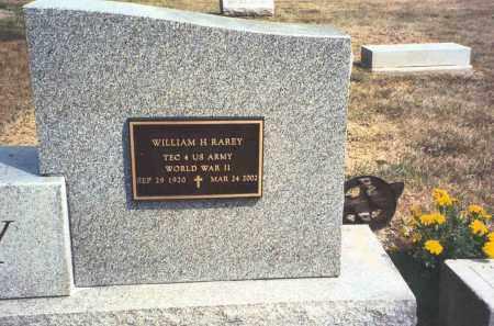 RAREY, WILLIAM H. - Franklin County, Ohio | WILLIAM H. RAREY - Ohio Gravestone Photos