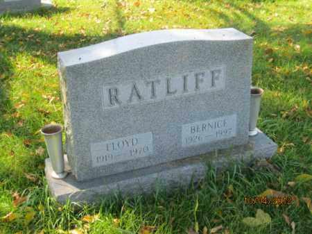 BAKER RATLIFF, BERNICE - Franklin County, Ohio   BERNICE BAKER RATLIFF - Ohio Gravestone Photos