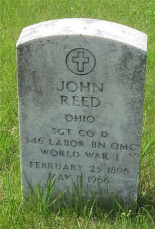 REED, JOHN - Franklin County, Ohio | JOHN REED - Ohio Gravestone Photos