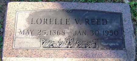 REED, LORELLE V - Franklin County, Ohio | LORELLE V REED - Ohio Gravestone Photos
