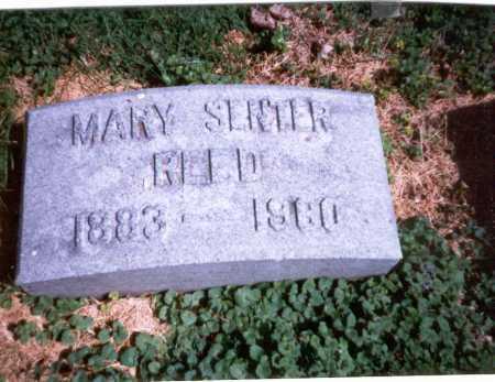 REED, MARY - Franklin County, Ohio | MARY REED - Ohio Gravestone Photos