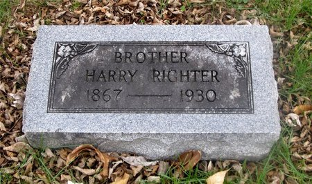 RIGHTER, HARRY - Franklin County, Ohio | HARRY RIGHTER - Ohio Gravestone Photos