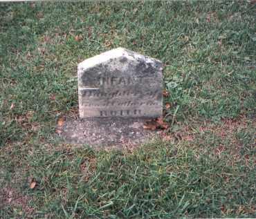 ROHR, INFANT - Franklin County, Ohio | INFANT ROHR - Ohio Gravestone Photos