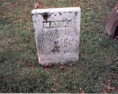 ROHR, MARIA - Franklin County, Ohio   MARIA ROHR - Ohio Gravestone Photos