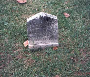 ROHR, RACHEL; - Franklin County, Ohio   RACHEL; ROHR - Ohio Gravestone Photos