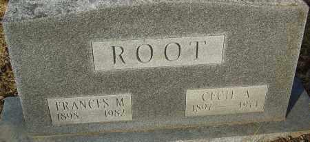 ROOT, CECIL A - Franklin County, Ohio | CECIL A ROOT - Ohio Gravestone Photos