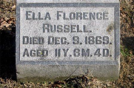 RUSSELL, ELLA FLORENCE - Franklin County, Ohio | ELLA FLORENCE RUSSELL - Ohio Gravestone Photos