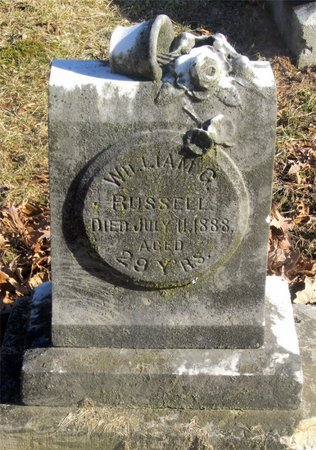 RUSSELL, WILLIAM G. - Franklin County, Ohio | WILLIAM G. RUSSELL - Ohio Gravestone Photos