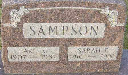 SAMPSON, SARAH - Franklin County, Ohio | SARAH SAMPSON - Ohio Gravestone Photos