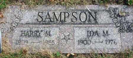 SAMPSON, IDA M. - Franklin County, Ohio | IDA M. SAMPSON - Ohio Gravestone Photos