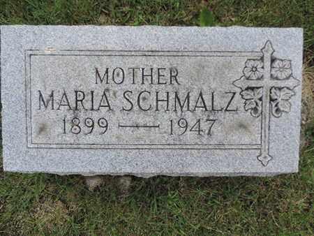 SCHMALZ, MARIA - Franklin County, Ohio | MARIA SCHMALZ - Ohio Gravestone Photos