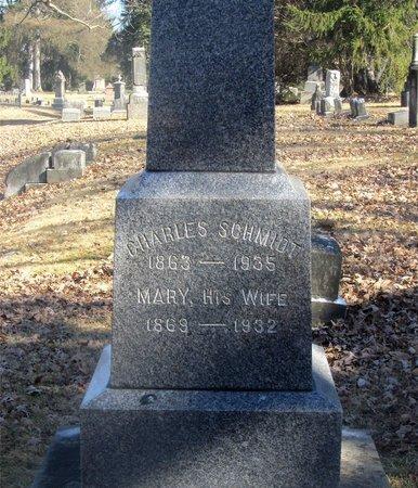 SCHMIDT, CHARLES - Franklin County, Ohio | CHARLES SCHMIDT - Ohio Gravestone Photos