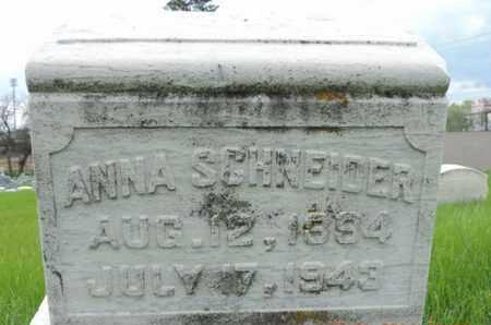 SCHNEIDER, ANNA - Franklin County, Ohio | ANNA SCHNEIDER - Ohio Gravestone Photos