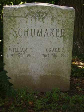 SCHUMAKER, WILLIAM TROSTDORF - Franklin County, Ohio | WILLIAM TROSTDORF SCHUMAKER - Ohio Gravestone Photos