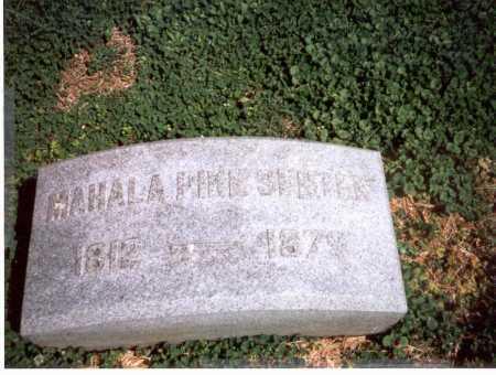 SENTER, MAHALA - Franklin County, Ohio | MAHALA SENTER - Ohio Gravestone Photos