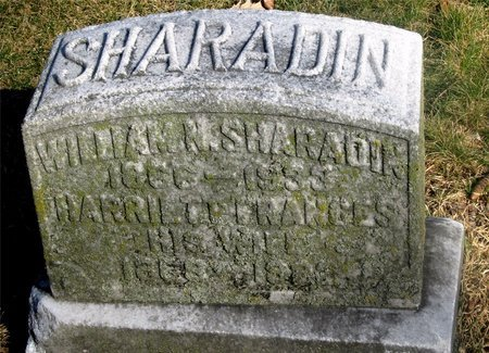 SHARADIN, WILLIAM N. - Franklin County, Ohio | WILLIAM N. SHARADIN - Ohio Gravestone Photos