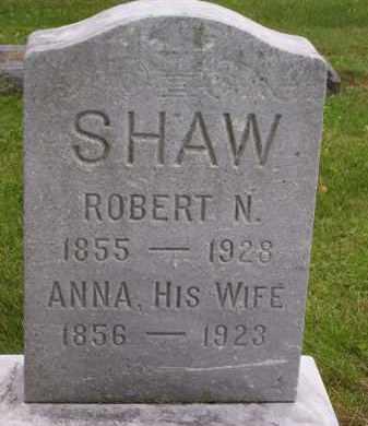 SHAW, ANNA - Franklin County, Ohio | ANNA SHAW - Ohio Gravestone Photos
