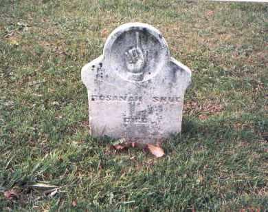 SHUE, ROSANAH - Franklin County, Ohio | ROSANAH SHUE - Ohio Gravestone Photos