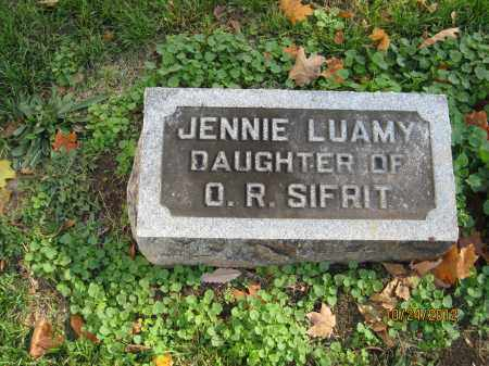 SIFRIT, JENNIE LUAMY - Franklin County, Ohio | JENNIE LUAMY SIFRIT - Ohio Gravestone Photos
