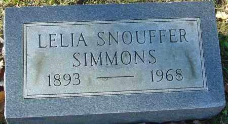 SIMMONS, LELIA - Franklin County, Ohio | LELIA SIMMONS - Ohio Gravestone Photos
