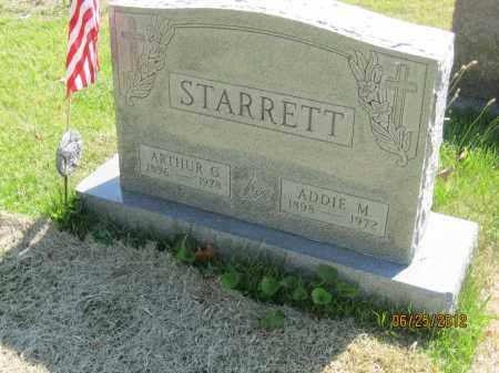 SHIREY STARRETT, ADDIE MAE - Franklin County, Ohio | ADDIE MAE SHIREY STARRETT - Ohio Gravestone Photos