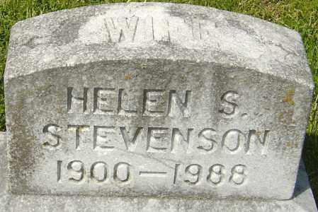 STEVENSON, HELEN - Franklin County, Ohio | HELEN STEVENSON - Ohio Gravestone Photos