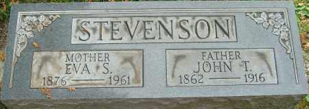 STEVENSON, JOHN T - Franklin County, Ohio | JOHN T STEVENSON - Ohio Gravestone Photos