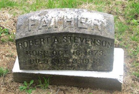 STEVENSON, ROBERT A. - Franklin County, Ohio | ROBERT A. STEVENSON - Ohio Gravestone Photos