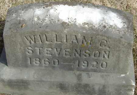 STEVENSON, WILLIAM G - Franklin County, Ohio   WILLIAM G STEVENSON - Ohio Gravestone Photos