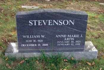 STEVENSON, ANNE MARIE J. - Franklin County, Ohio | ANNE MARIE J. STEVENSON - Ohio Gravestone Photos