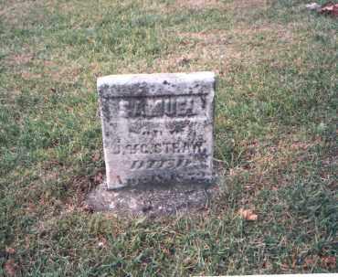 STRAW, SAMUEL - Franklin County, Ohio | SAMUEL STRAW - Ohio Gravestone Photos