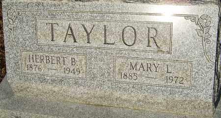 TAYLOR, MARY LOUISE - Franklin County, Ohio | MARY LOUISE TAYLOR - Ohio Gravestone Photos