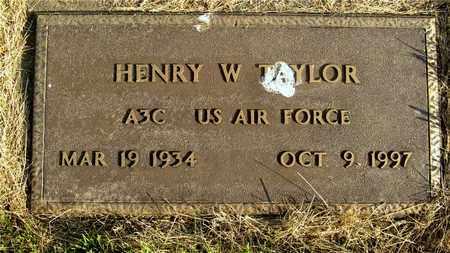 TAYLOR, HENRY W. - Franklin County, Ohio | HENRY W. TAYLOR - Ohio Gravestone Photos