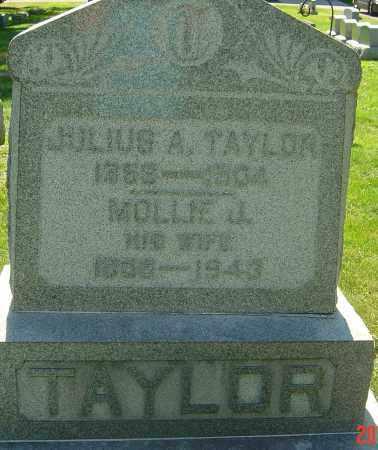 TAYLOR, MOLLIE JANE - Franklin County, Ohio | MOLLIE JANE TAYLOR - Ohio Gravestone Photos