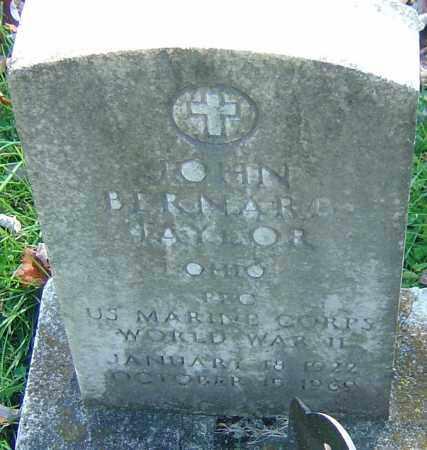 TAYLOR, JOHN BERNARD - Franklin County, Ohio | JOHN BERNARD TAYLOR - Ohio Gravestone Photos