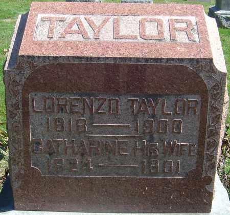 TAYLOR, LORENZO - Franklin County, Ohio | LORENZO TAYLOR - Ohio Gravestone Photos