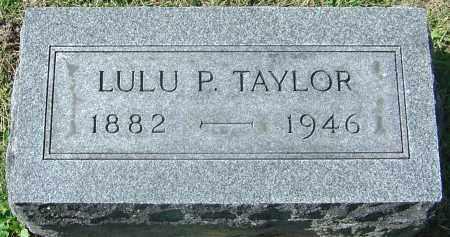 TAYLOR, LULU PEARL - Franklin County, Ohio   LULU PEARL TAYLOR - Ohio Gravestone Photos