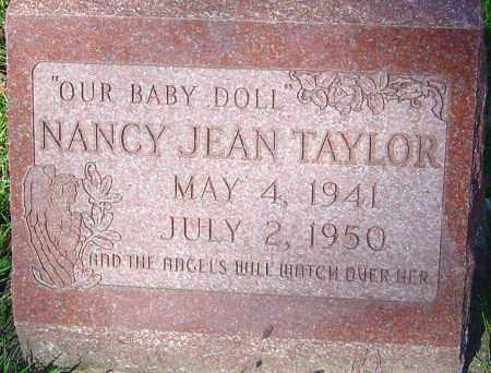 TAYLOR, NANCY JEAN - Franklin County, Ohio | NANCY JEAN TAYLOR - Ohio Gravestone Photos