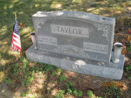 TAYLOR, ROY CLIFFORD - Franklin County, Ohio | ROY CLIFFORD TAYLOR - Ohio Gravestone Photos