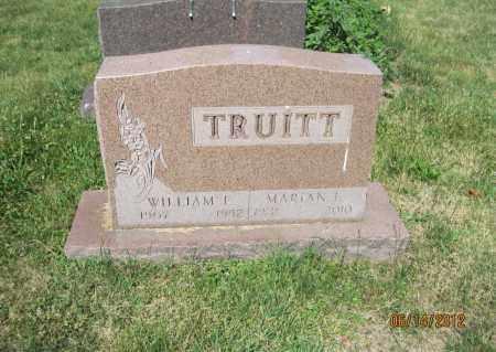 TRUITT, WILLIAM E - Franklin County, Ohio   WILLIAM E TRUITT - Ohio Gravestone Photos